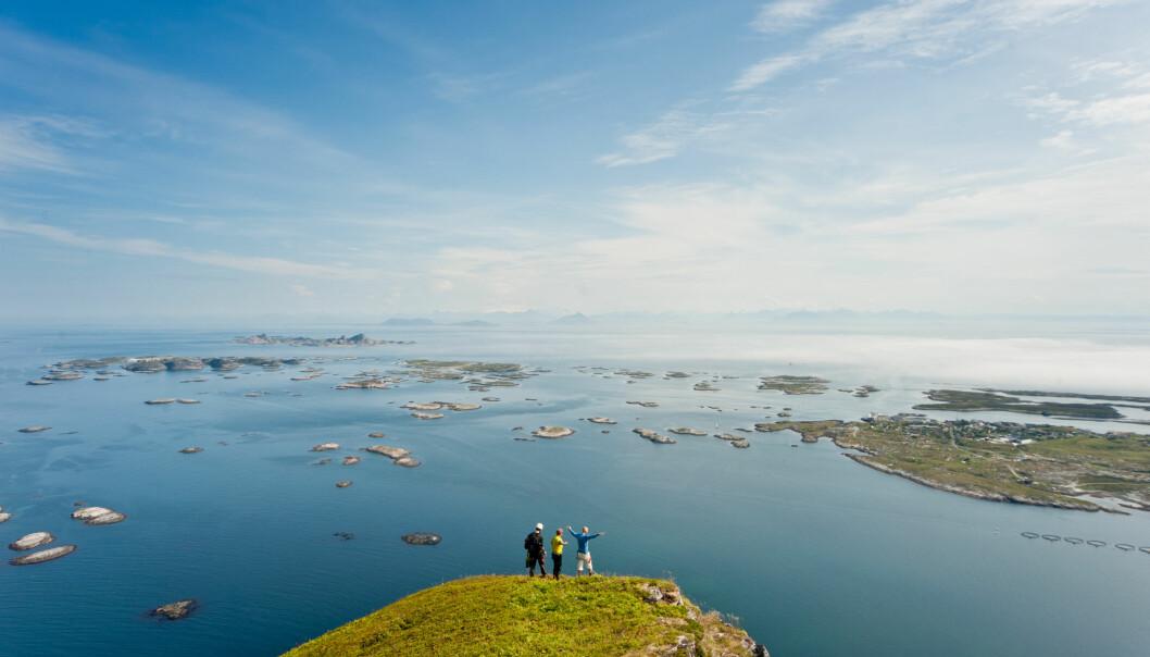 Øyhopping på Helgelandskysten