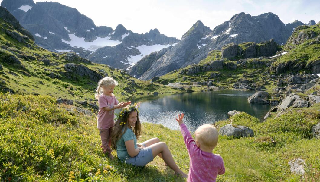 Det er lett å la seg begeistre av et slikt landskap.