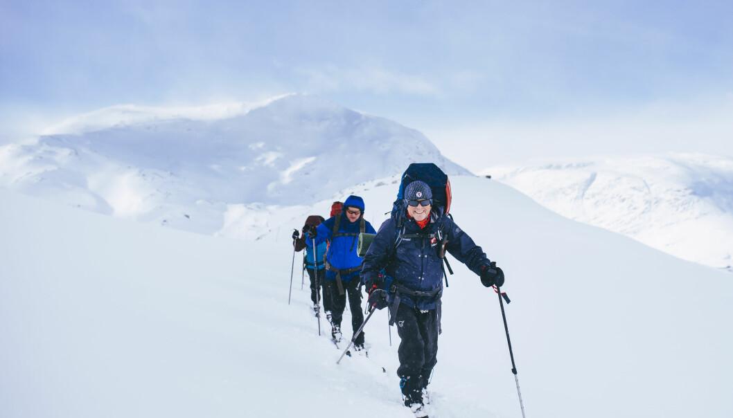 OPPLEVELSE: En vintertur kan være en mektig opplevelse.