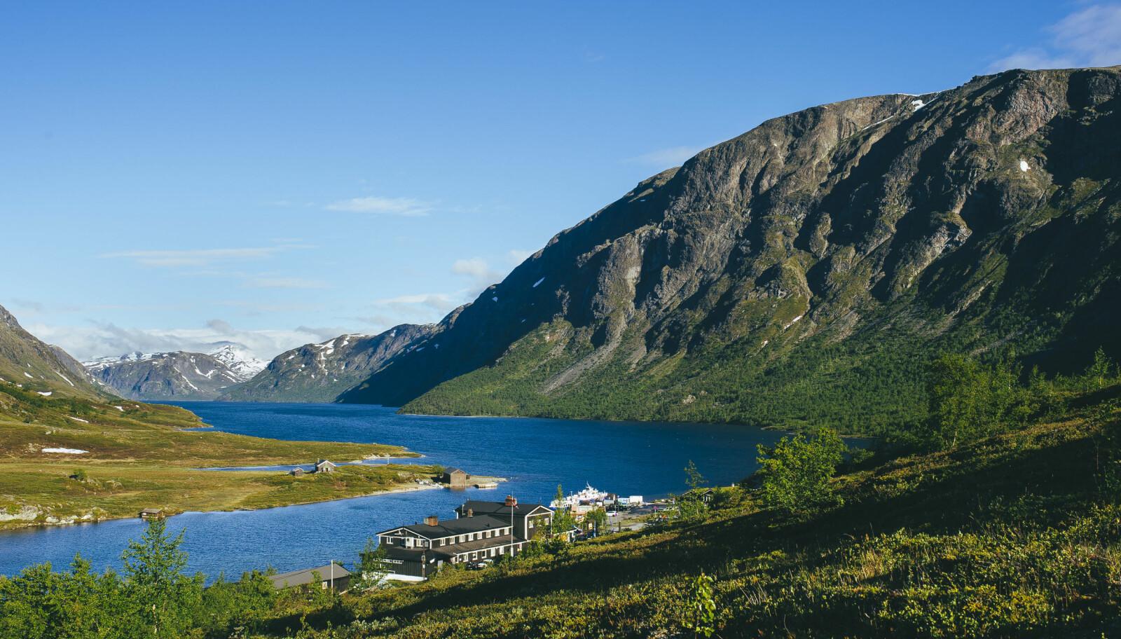 FLOTT UTGANGSPUNKT: Gjendesheim er en utmerket basem for fine fjellopplevelser.