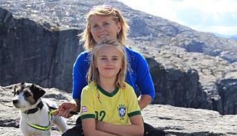 TUREKSPERT: Trude Havik og dottera Anna-Thea.