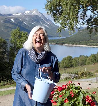 VINNER: Randi Horghagen er vertinne på Gjevilvasshytta på 21. året.