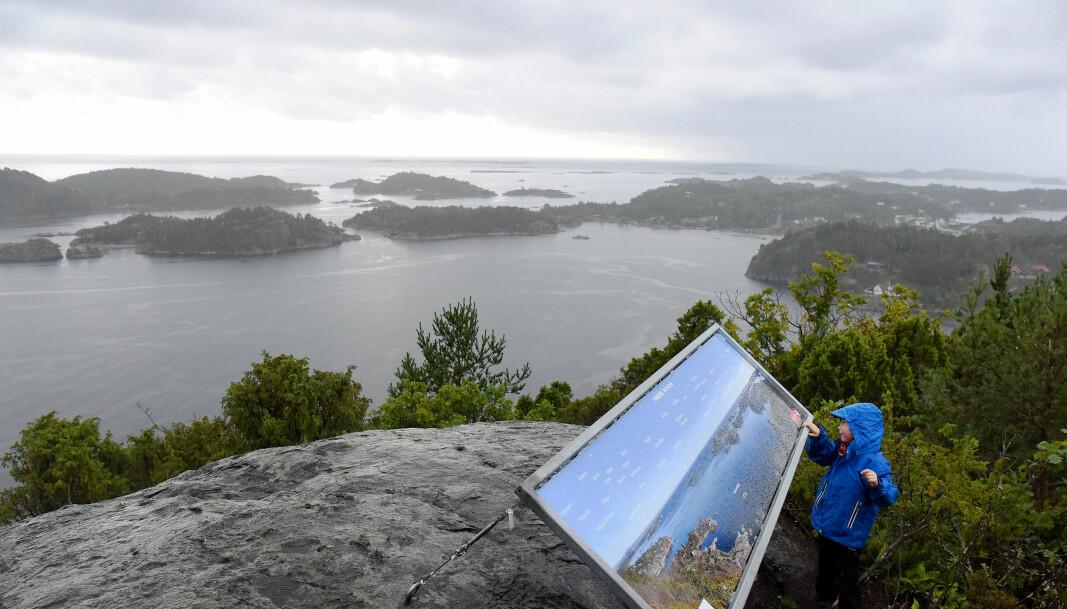 Kyststien er en flott mulighet til å oppleve Norges flotte natur til fots, som her ved Kragerø