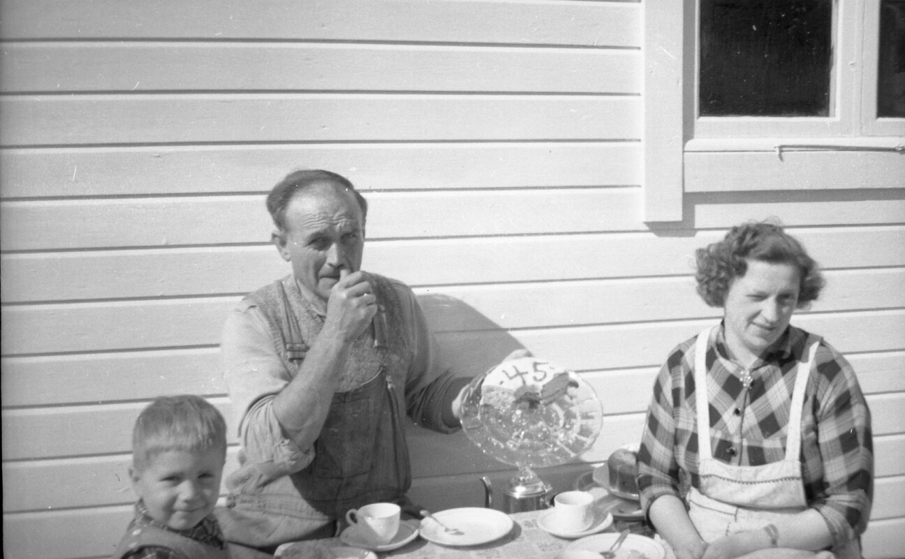 Helge Johnsen, John Johnsen, Margit Johnsen, Skongenes fyr, 10. juni 1959.