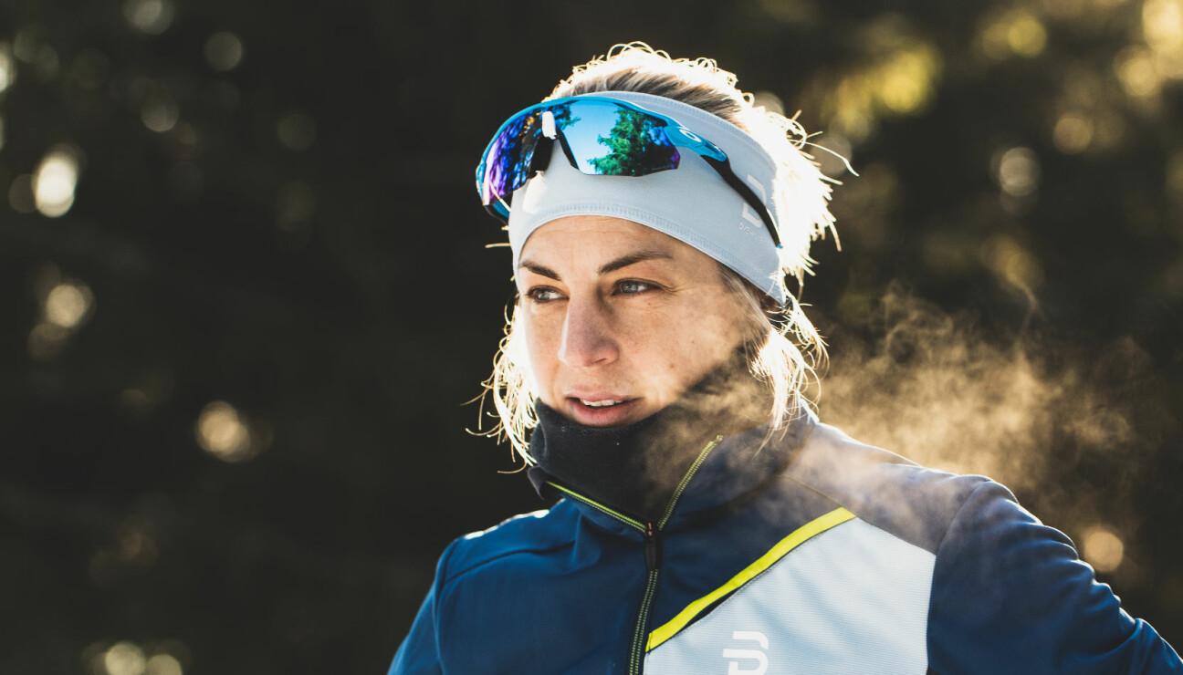 """<span class="""" italic"""" data-lab-italic_desktop=""""italic"""">Astrid Uhrenholdt Jacobsen har lagt opp som toppidrettsutøver og kan nå stoppe opp og nyte utsikten på skitur.</span>"""