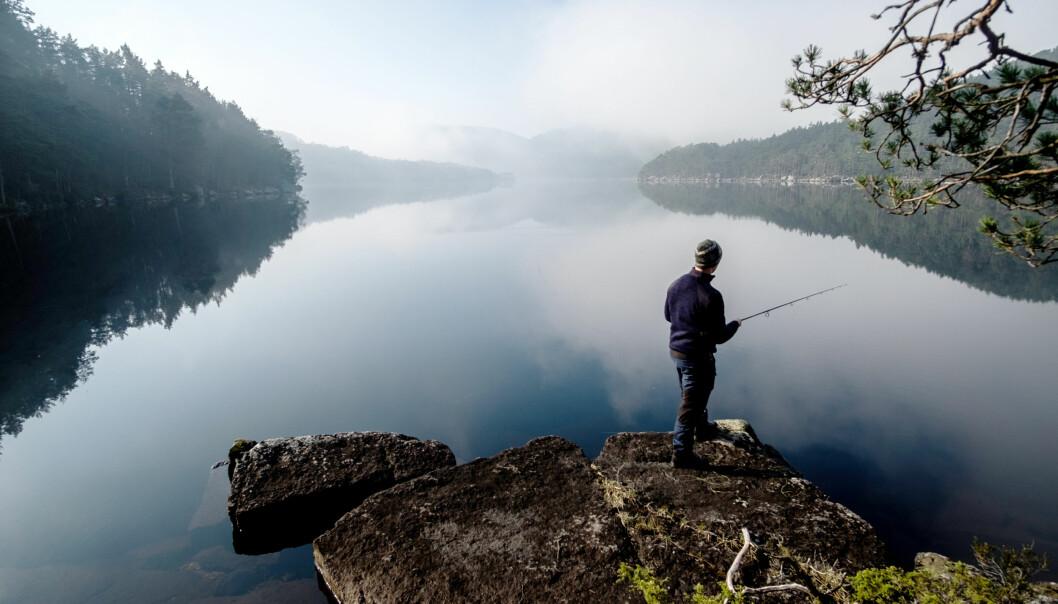 Den som er tålmodig, kan oppleve både napp og fisk tidlig om våren.