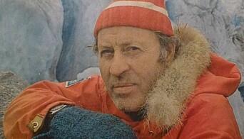 Brefører og dronningfører: Legendariske Anders Øygard gikk helst Jostedalsbreen på langs om natta.
